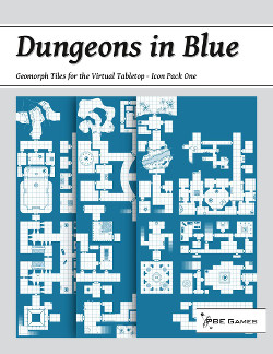 Dungeons in Blue on DriveThruRPG