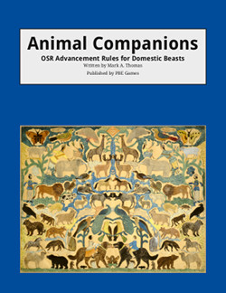Animal Companions on DriveThruRPG