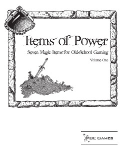 Items of Power on DriveThruRPG