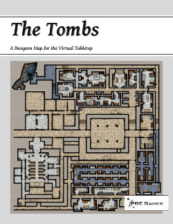 The Tombs on DriveThruRPG