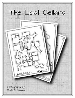 The Lost Cellars on DriveThruRPG